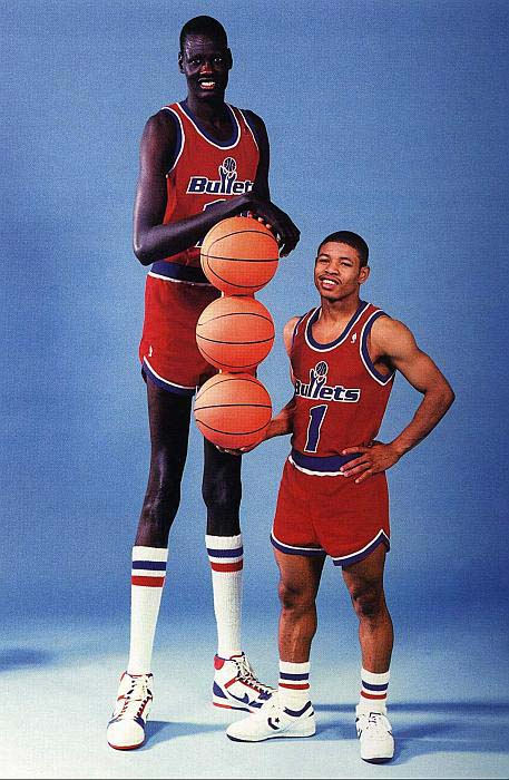 Manute Bol Pool : manute, Hollywood:, Manute