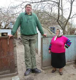 Leonid Stadnyk Tallest man in the World