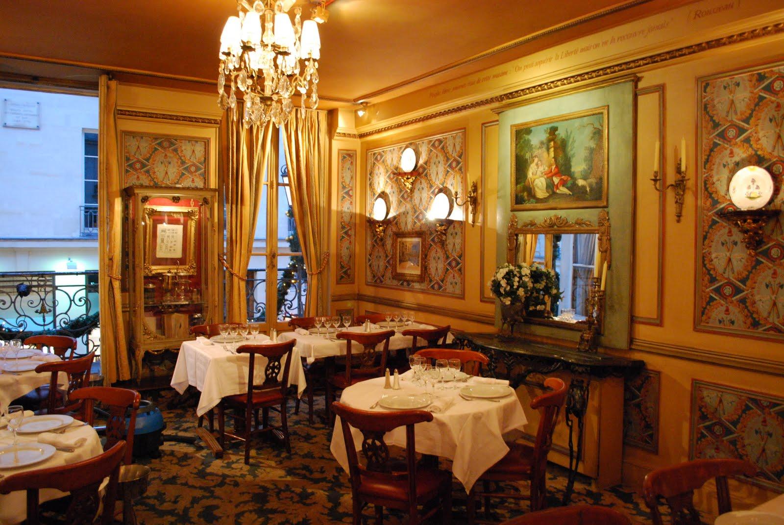 procope restaurant paris