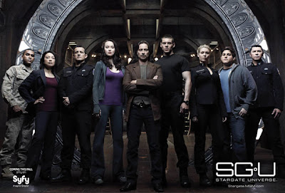 Stargate Universe has been canceled.