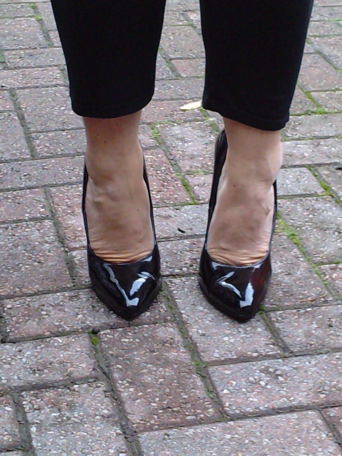 Seksi visoke pete Obutev, ki se nosijo Redni čevlje z visoko peto sodišča-4340