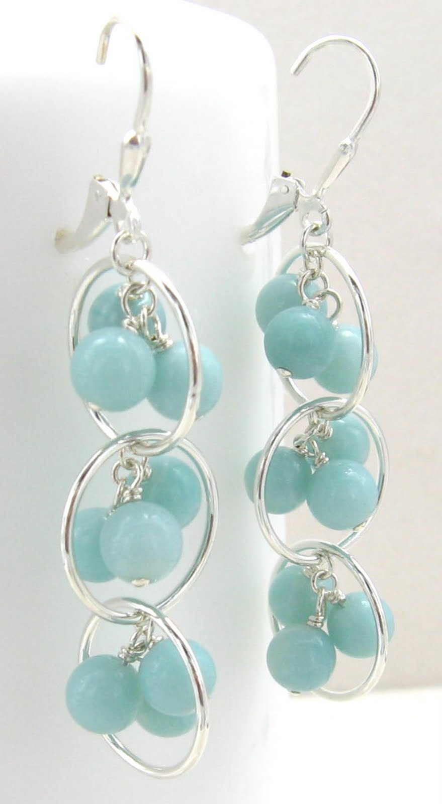 Gracie Jewellery: Handmade Sterling Silver Amazonite ...