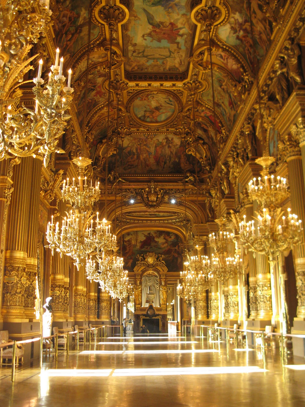 Superficie Grand Foyer Opera Garnier : Just another american in paris opéra garnier