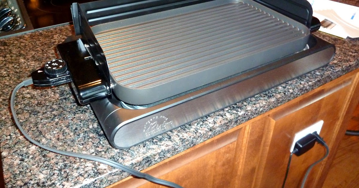 Retired Rod Wolfgang Puck Griddle Grill