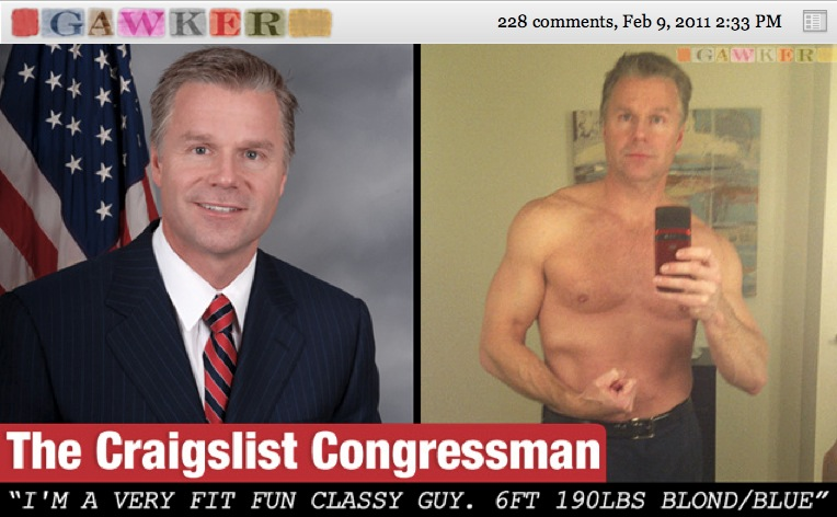 Busted: GOP Congressman Caught Sending Nude Selfies, Lewd