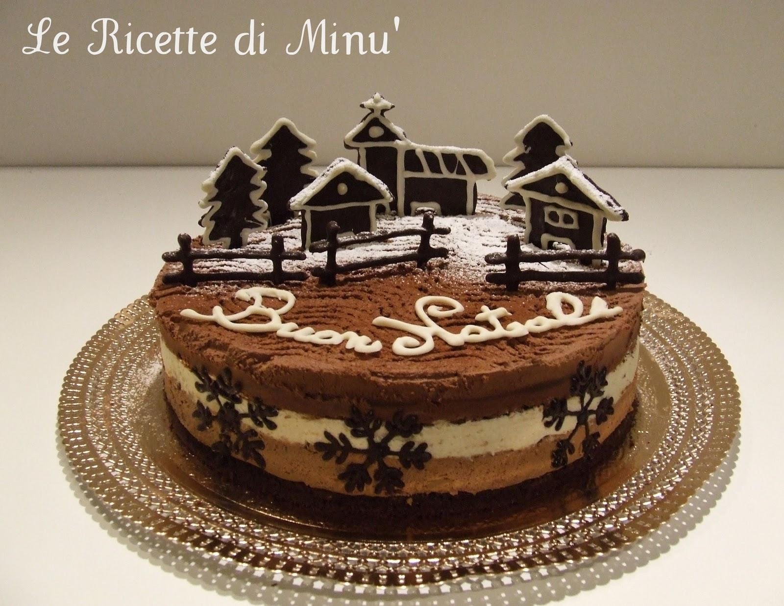 Il goloso mondo di minu 39 christmas trimousse - Decorazioni torte natalizie ...