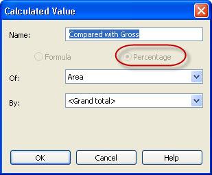 Revit OpEd: Percentage of Gross