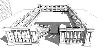 Revit OpEd: Concrete Railings and a Newel Post