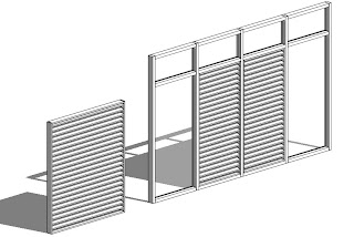 Revit OpEd: Curtain Wall Louvers or How to Avoid Arrays