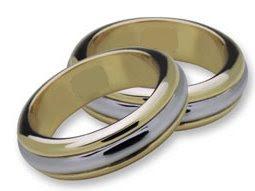 d7047dfa575f Taller Denka Joyas  51- Argollas de Matrimonio en Oro Amarillo y Oro ...