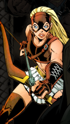 Arrowette - comics - the green arrow