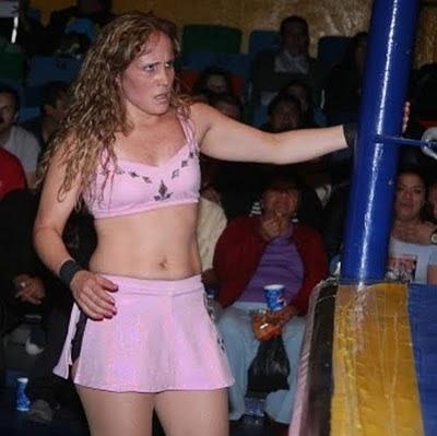 Dalis La Caribeña - lucha libre mexicana - female wrestling pics - lucha libre