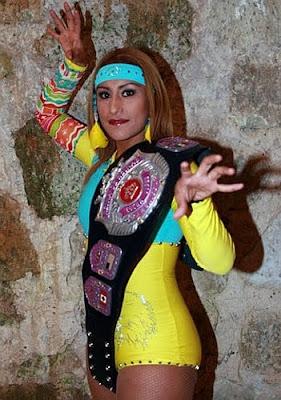 Faby Apache - triplea - triple a - lucha libre aaa