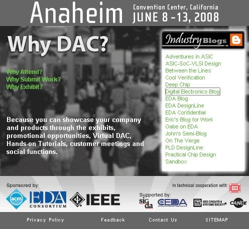 The Digital Electronics Blog at Design Automation Conference (DAC)