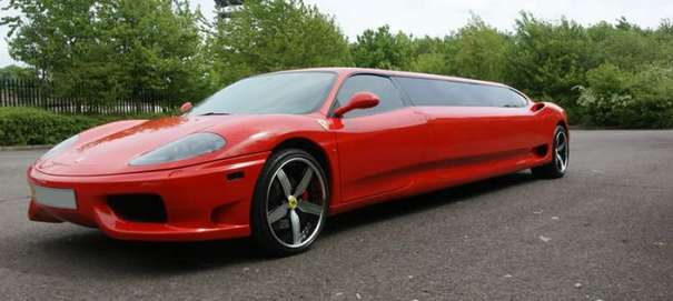 The Ferrari 360 Limousine Russia Blog