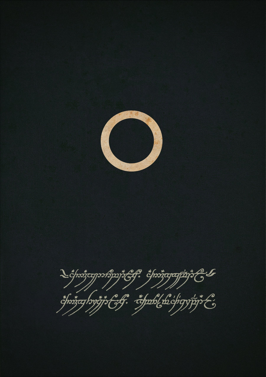 BLOG OF THE RINGS: Minimalist LOTR Movie Posters...