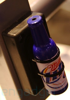 Beer MP3 Player at CES 2008