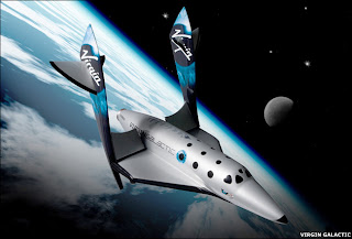 Virgin galactic ship