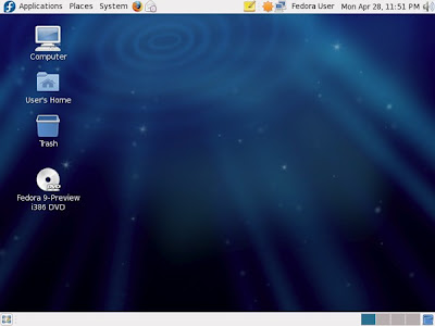 Fedora 9 linux sulphur updates released