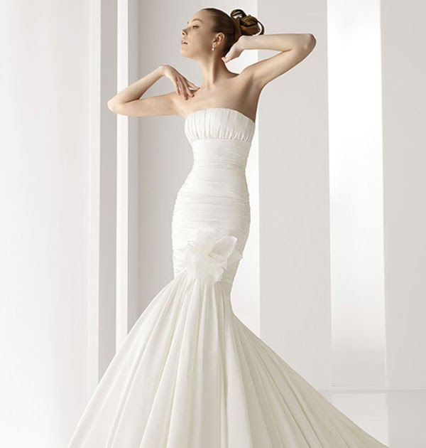 Wedding Ideas Vogue: Smart Wedding Ideas: Mermaid Style Wedding Gowns 2011