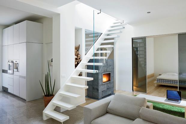 INTERIORS: Loft con terrazzo, tutto al naturale | abitudinicreative ...