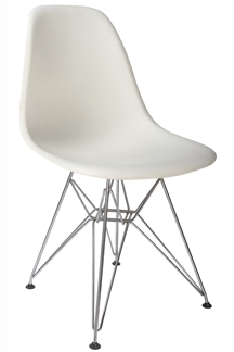 Astonishing Furniture Hire Furniture Rental Charles Eames White Dsr Machost Co Dining Chair Design Ideas Machostcouk