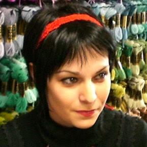free crochet pattern, skinny headband