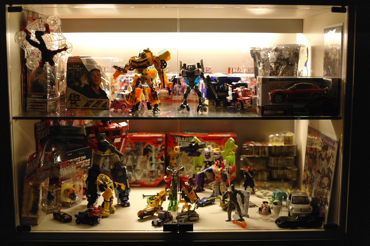 My New House Has A Large Display Cabinet That Allows Me To Showcase My  Humble Toy Collection. Itu0027s Not A Lot, Because I Only Had A Small Display  Cabinet In ...