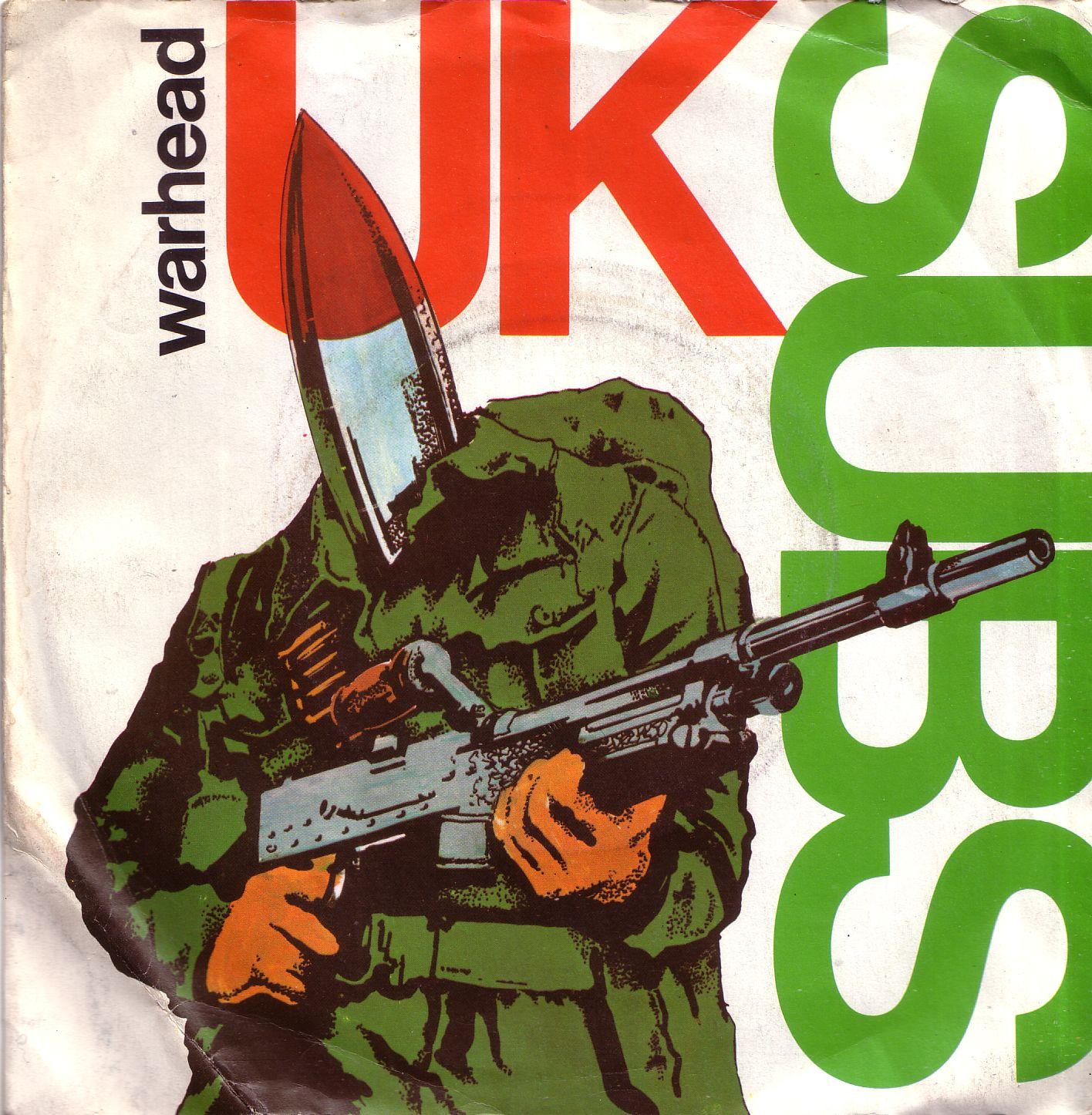 "Too Short A Life Uk Subs  Warhead (1980) 7"" Vinylrip"