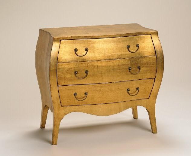 J Covington Design Groovy Metallic Finished Furniture