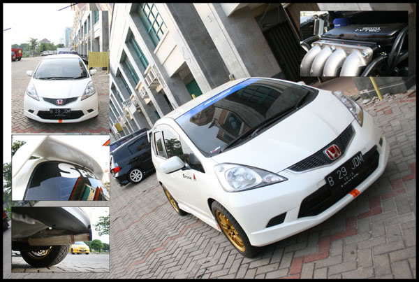 Honda Car modif collection: Spoonified GE8 White RS