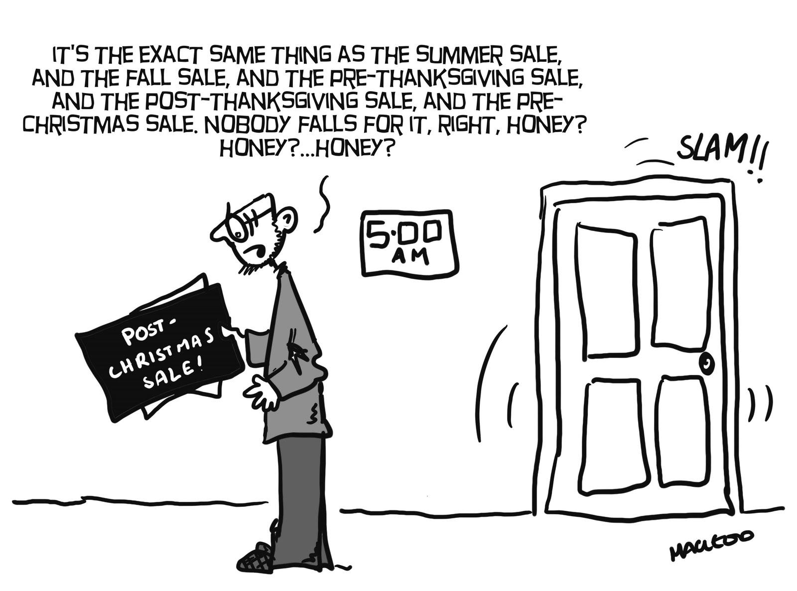 MacLeod Cartoons: Christmas Sales!