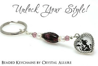 Unlock Your Style with Handmade Beaded Keychains by Crystal Allure