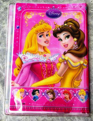Littlewonderlandfriends Disney Princess Passport Holder Case