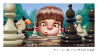 Полезная девочка - Иллюстрация - Юрий (t_rAt) Волкович