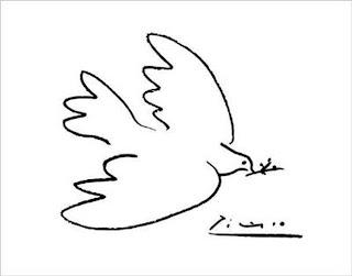 Resultado de imagem para Pomba da Paz picasso