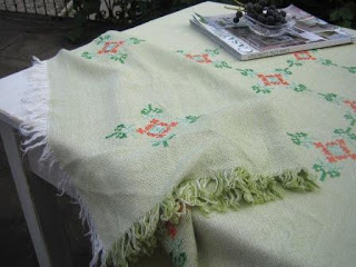 italian vintage tablecloth
