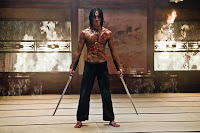 Rain as Raizo the ninja