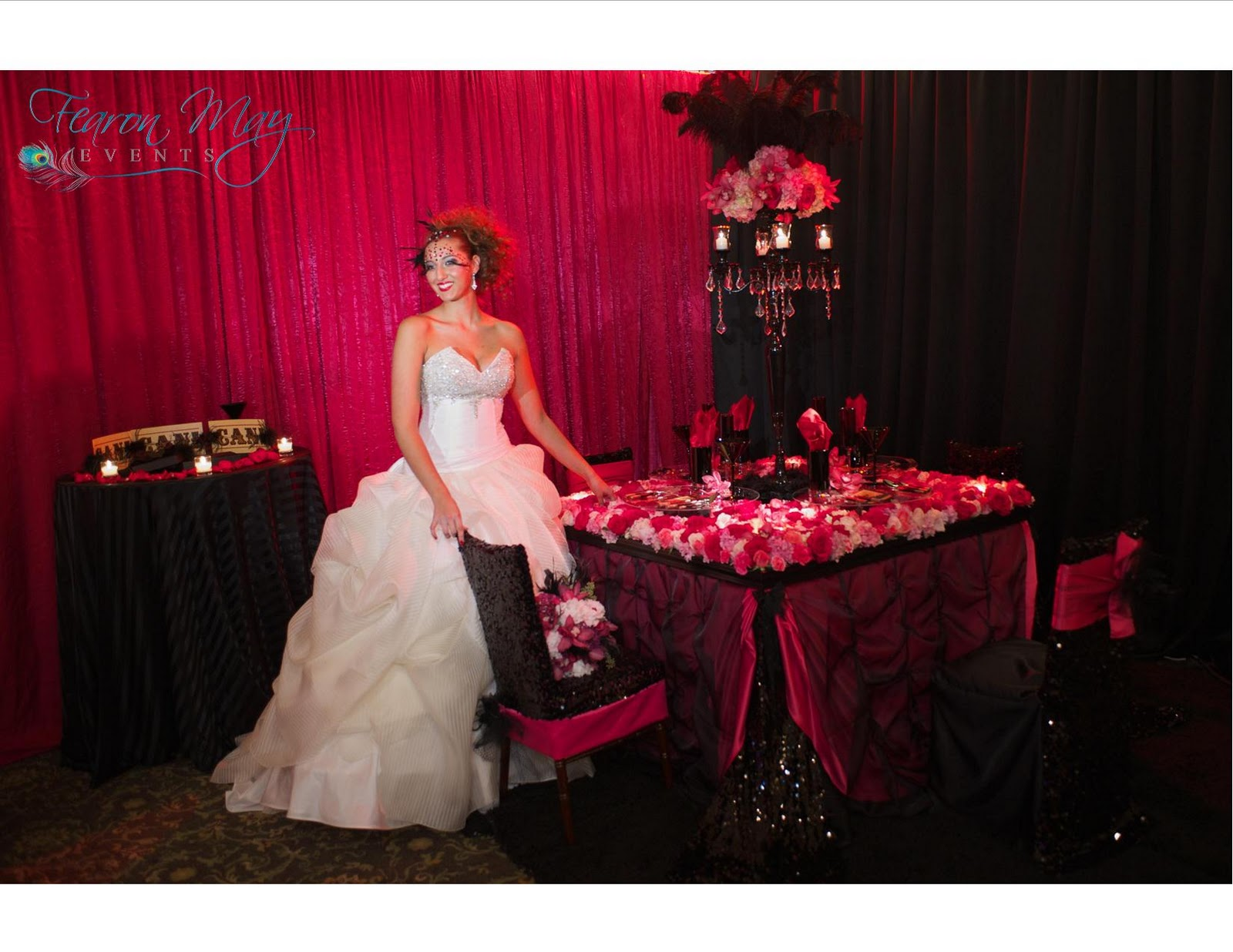Moulin Rouge Wedding Dress