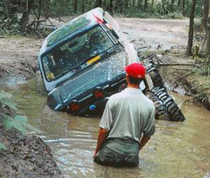 Stuck Truck