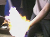 Teen burned in popular body spray stunt