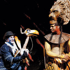 'The Lion King' is celebrating its first decade of stunning audiences worldwide. Photo: Deen van Meer