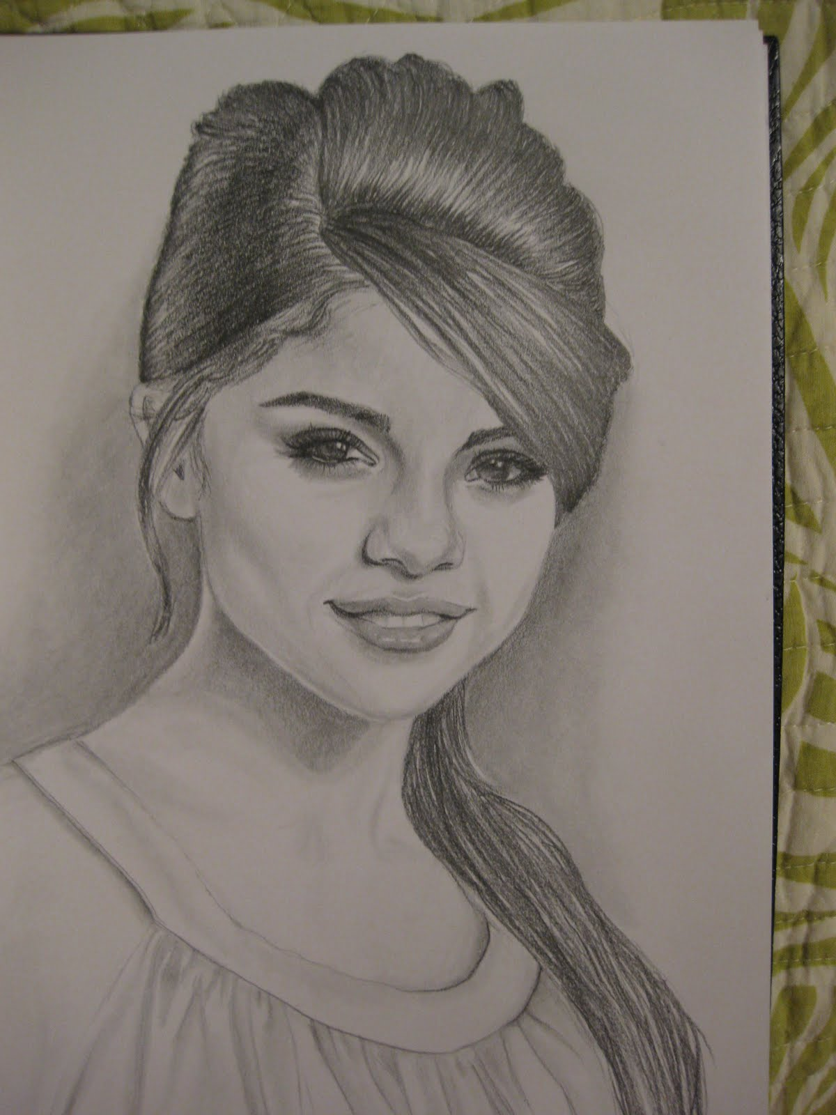 Pacific Pastime: Selena Gomez Drawing