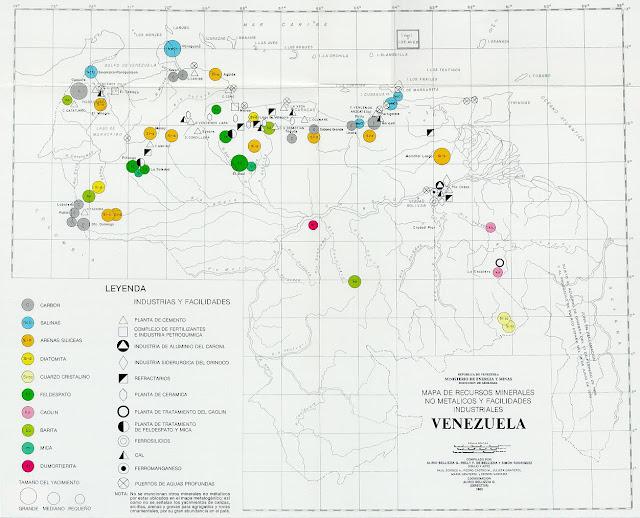 Recursos Minerales No Metálicos de Venezuela