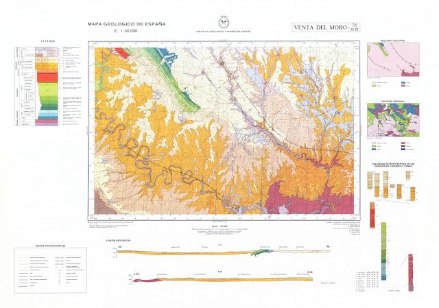 Mapa Geológico de España.
