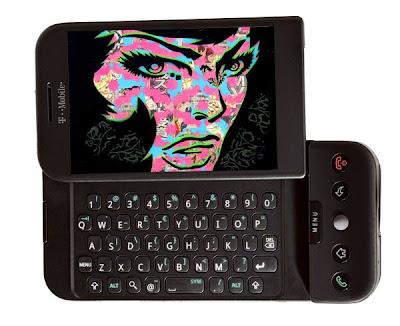 t-mobile g1 phone | PaperMonster Stencil Graffiti Artist