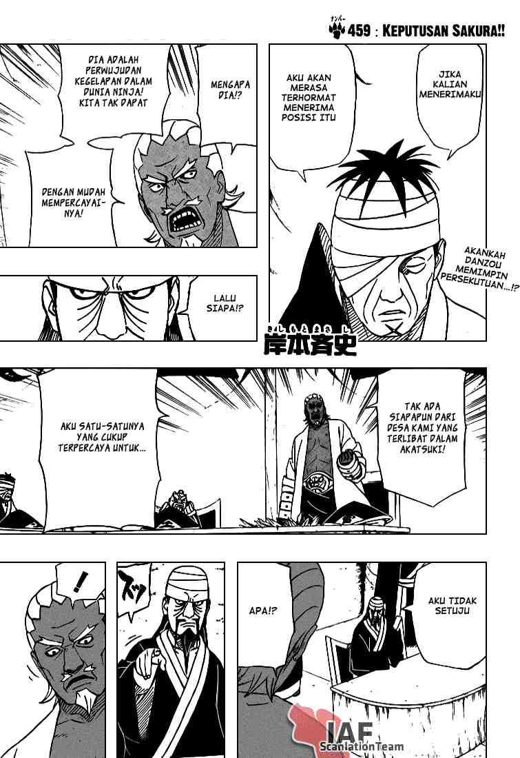 01 Naruto 459   Keputusan Sakura