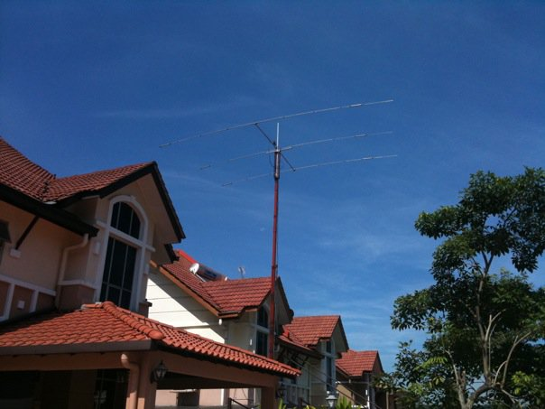 Ham Radio Crank Up Mast: EHam net Classifieds FS: US Towers TX-455