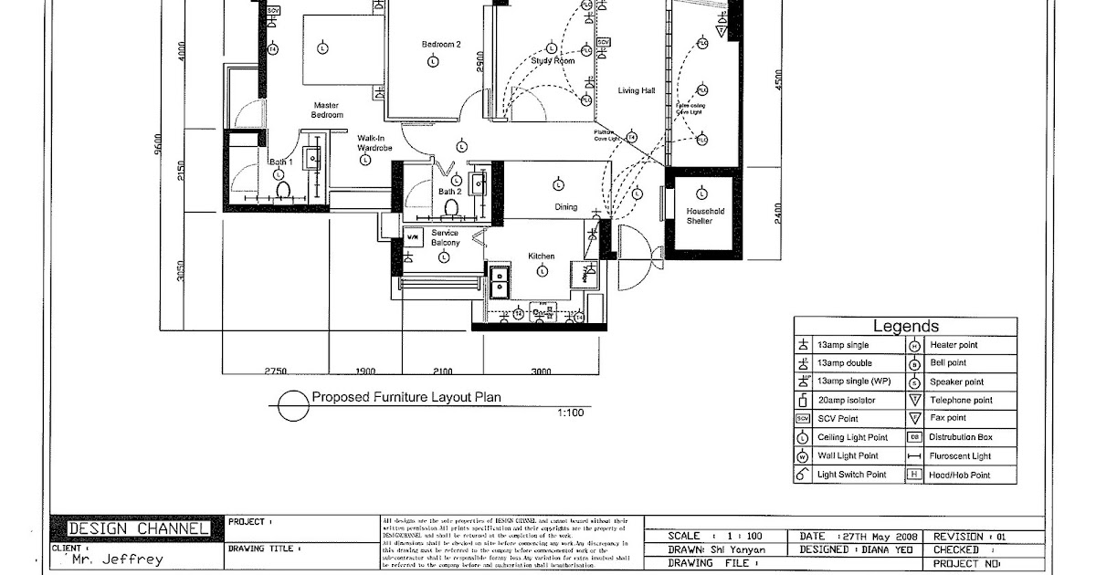 The J's Wedding & New Home: Lighting & Electrical Plan