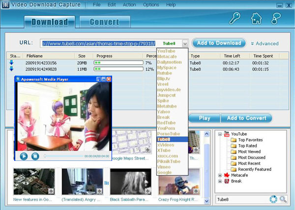 Download image Free Download 3gp Video Online Downloader PC, Android